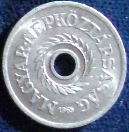 1965 Hungary 2 Filler BU