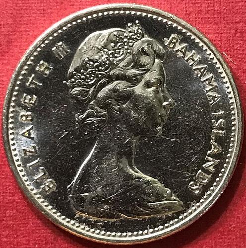 Bahamas 1969 = 25 Cents [#1]