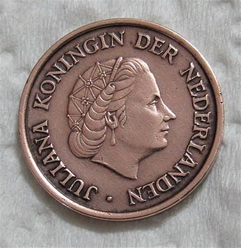 1950 Netherlands 5 Cents