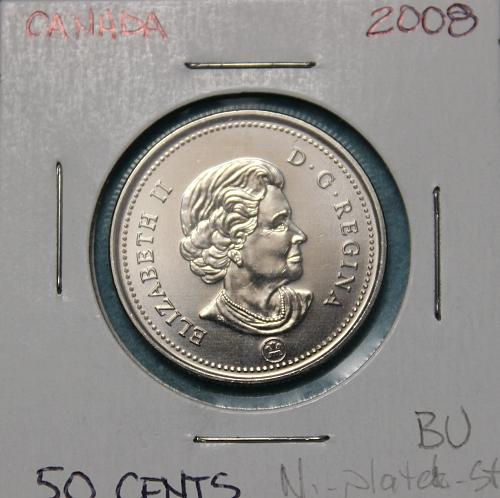 Canada 2008 50 cents