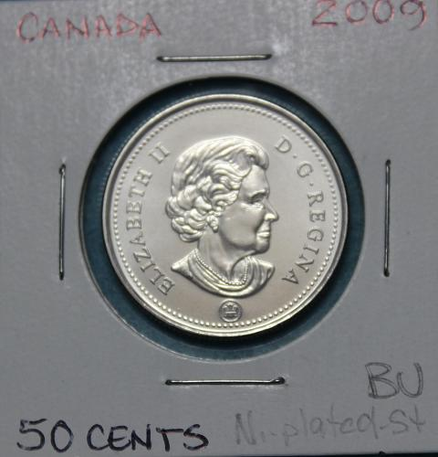 Canada 2009 50 cents