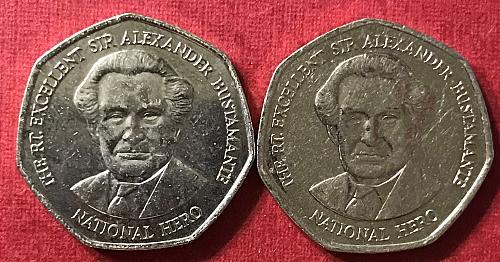 Jamaica 2005 and 2006 = 1 Dollar [#1]
