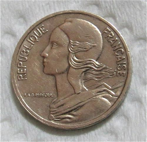1977 France 5 Centimes