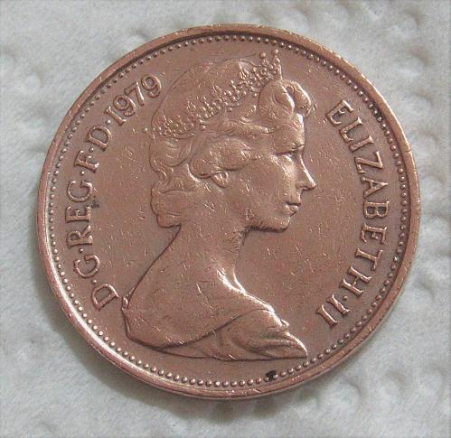 1979 United Kingdom 2 New Pence