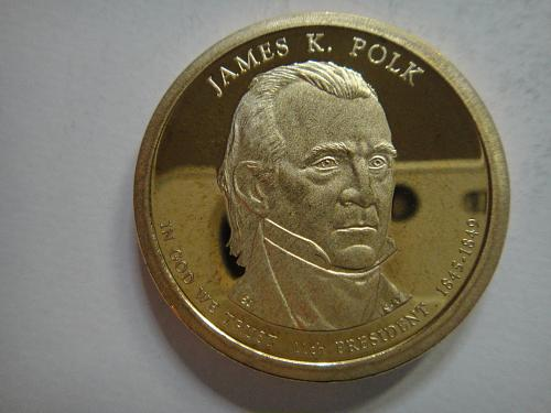 2009-S Polk Presidential Dollar Proof-65 (GEM)