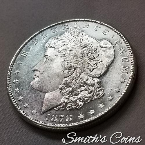 1878 S ~ Morgan Dollar ~ MS 65