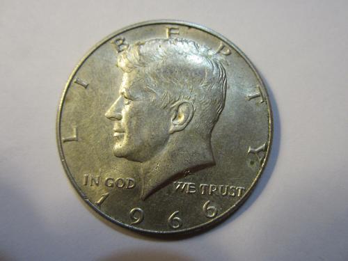 40% SILVER  1966 P Kennedy Half Dollars