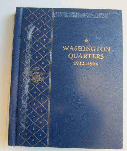 """Used Washington Quarter """"Silver"""" Book 1932-1964 """"Hard to Find Book"""" #20"""