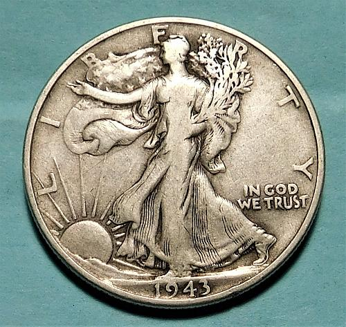 1943 P WALKING LIBERTY HALF DOLLAR #2