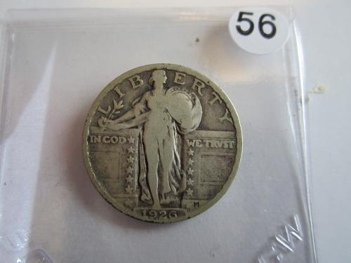 Great Looking1926-P Standing Liberty Quarter Priced to Sell! (Box 2 #56)