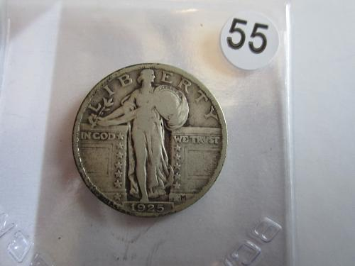 Great Looking1925-P Standing Liberty Quarter Priced to Sell! (Box 2 #55)