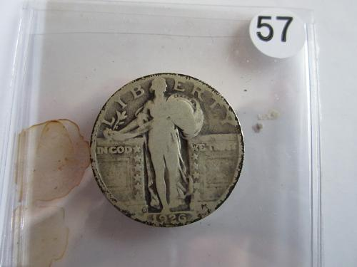 Great Looking1926-S Standing Liberty Quarter Priced to Sell! (Box 2 #57)