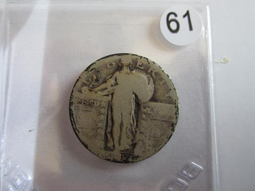 Great Looking1927-D Standing Liberty Quarter Priced to Sell! (Box 2 #61)