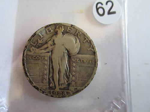 Great Looking1928-PStanding Liberty Quarter Priced to Sell! (Box 2 #62)