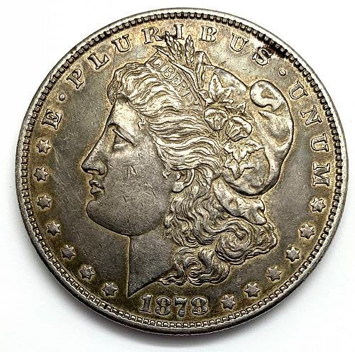 1878 S Morgan Dollar - Possibly Cleaned