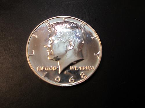 1968 S Proof Kennedy Half Dollars   See Pictures