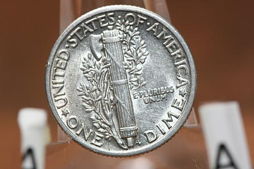 1941   Mercury dime 90% Silver