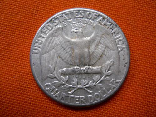 1935 (P) Washington Quarter.  Extremely Fine 45 Grade. Original Surfaces.
