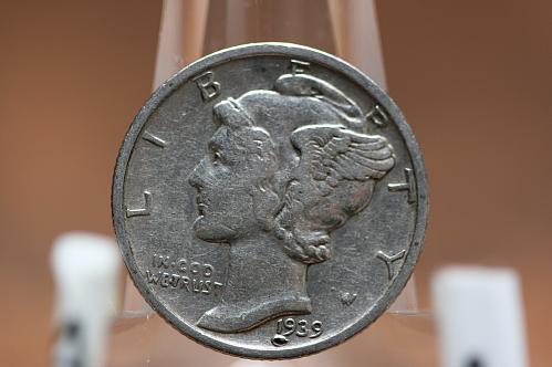 1939 S Mercury Dime