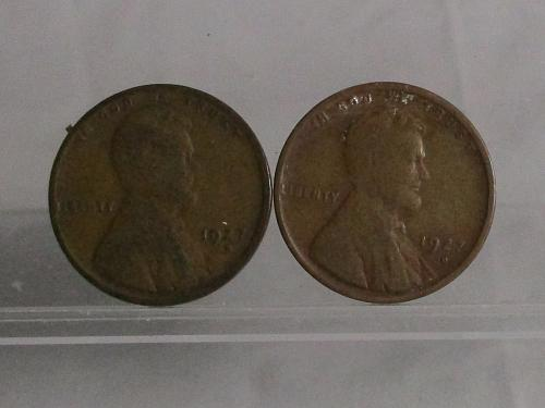 1927 D Lincoln Wheat Cents