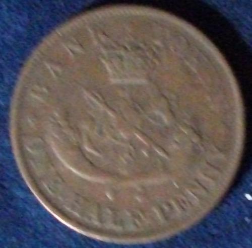 1837 Bank of Upper Canada Halfpenny VG