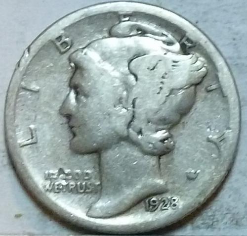 1928-S  GOOD Mercury Dime   ( 255 )