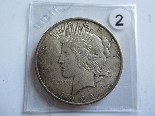 1922-D Peace Dollar (Best Deal)