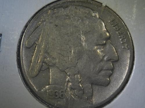 1936 - P Buffalo Nickel #A
