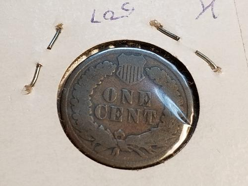 1886 P Indian Head Cent (VG) TYPE 2