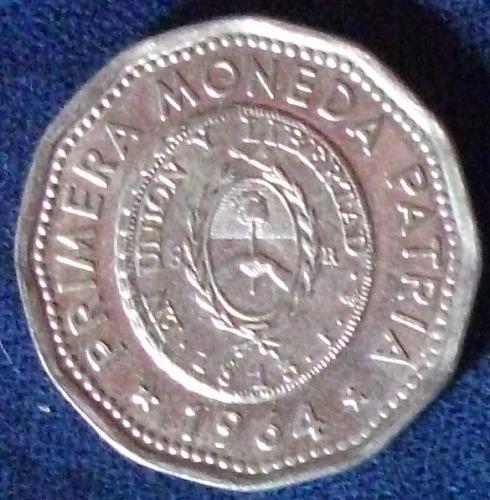 1964 Argentina 25 Pesos BU