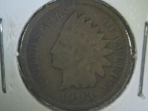 1903 - P Indian Head Cent