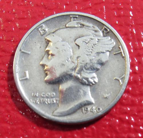 one nice 1940 Mercury Dime