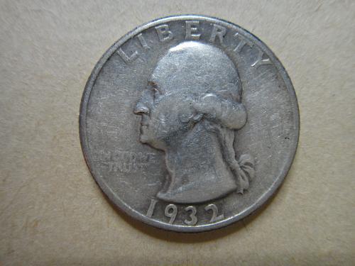 1932 Washington Quarter Very Fine-20 Orginal Patina!