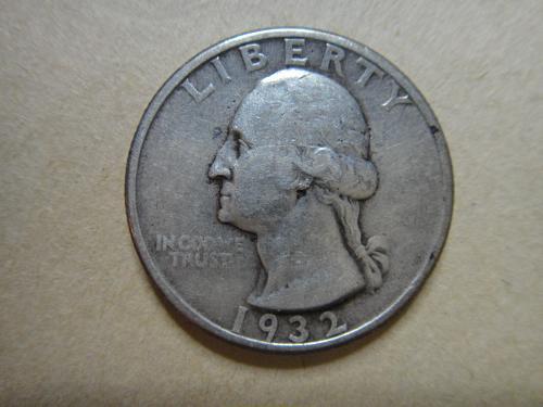 1932 Washington Quarter Extra Fine-40 Traces of Luster on Reverse!