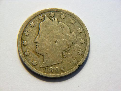 1894 Liberty V Nickel