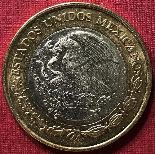 Mexico 2018 = 10 Pesos