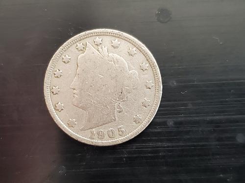 Liberty Nickel 1905