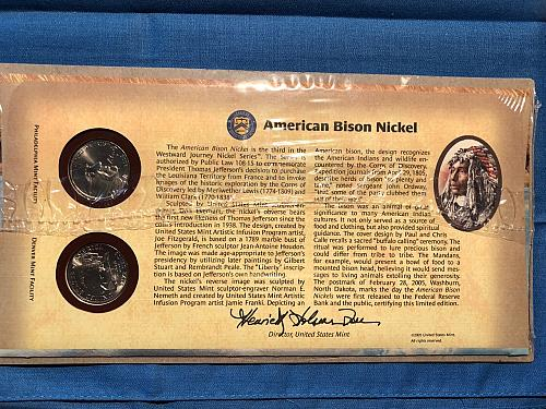 American Bison Nickel Special Set; US Mint 2005-D