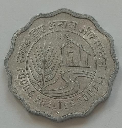 E).....1978...India coin.. Like Uncirculated..