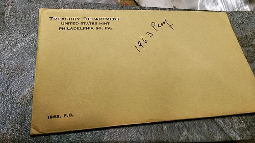 1963 US Mint Silver Proof Set UNOPENED!!