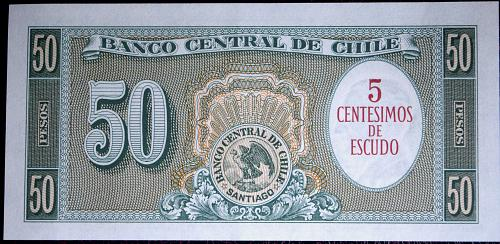 1961 50 PESO PLUS P#126 REPLACEMENT BANK NOTE  UNC