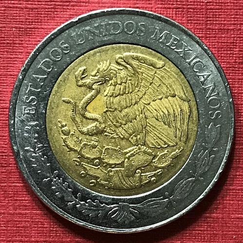 Mexico 2016 = 5 Pesos