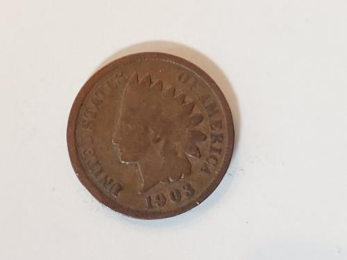 1903 Indian Penny
