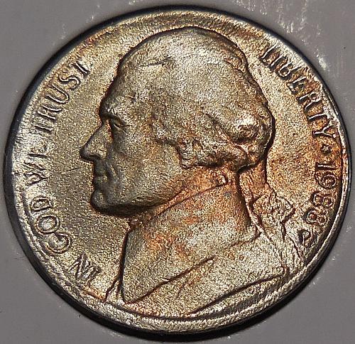 1988-P Jefferson Nickel *