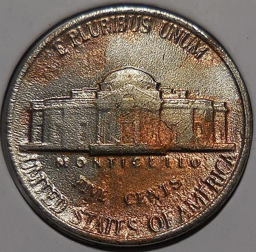 An Unusual1988-P Jefferson Nickel NPC 059 030