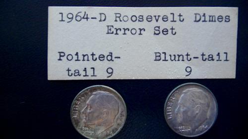 ( 2 ) 1964-D Roosevelt Dimes