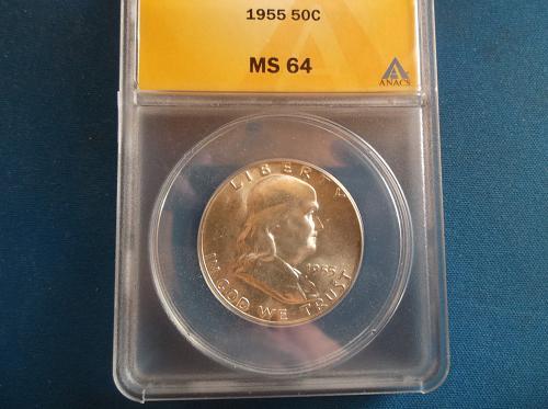 MS64 1955 Franklin