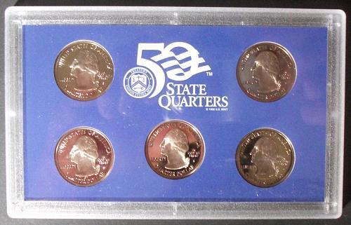 2004 Clad States Quarter Proof Set