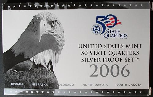 2006 Silver Proof State Quarters Set