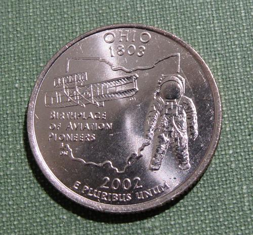 2002D Ohio state quarter